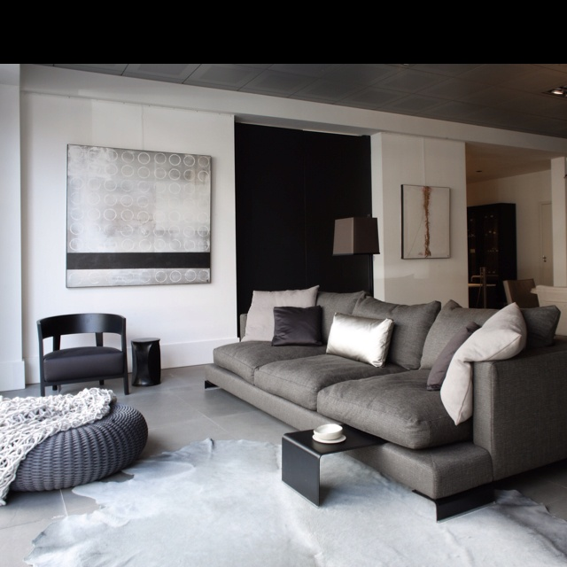 Flexformu0027s Long Island Sofa Adorns This Chic Living Room. Part 63