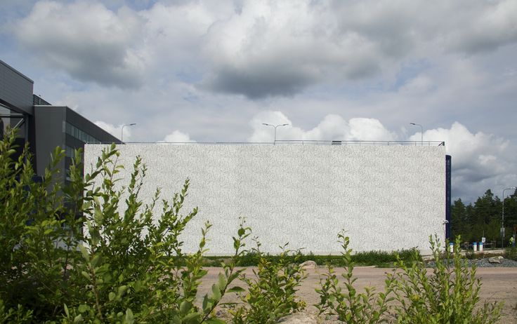 Pattern: Juniper. Technopolis Parking House, Finland 2015. Architecture by L Arkkitehdit, Prefabrication by MH-Betoni Oy.