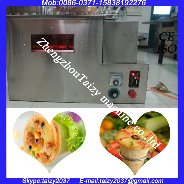 As ice cream complete Line to Make Pizza Cone/machine for pizza/pizza oven