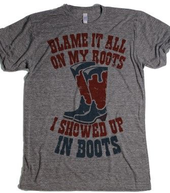 Showed Up In Boots  - Howdy - Skreened T-shirts, Organic Shirts, Hoodies, Kids Tees, Baby One-Pieces and Tote Bags