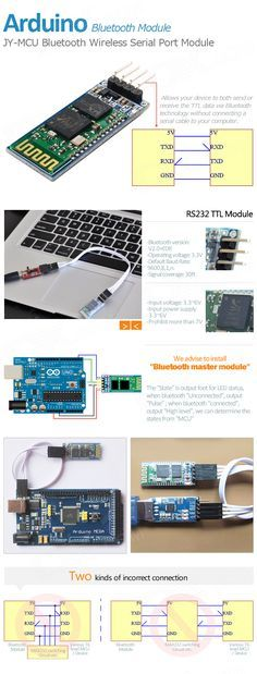 JY-MCU Bluetooth Wireless Serial Port Module for Arduino (Works with Official Arduino Boards) - Free Shipping - DealExtreme