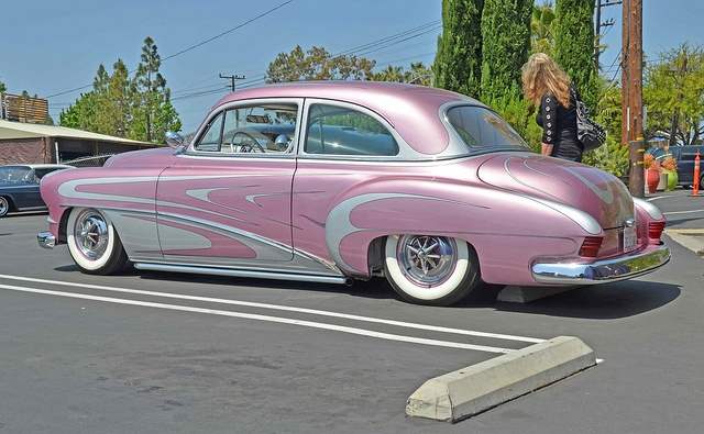 1950 custom Chevy pink cars, pink trucks pink jeeps, pink SUVs, pink classic cars