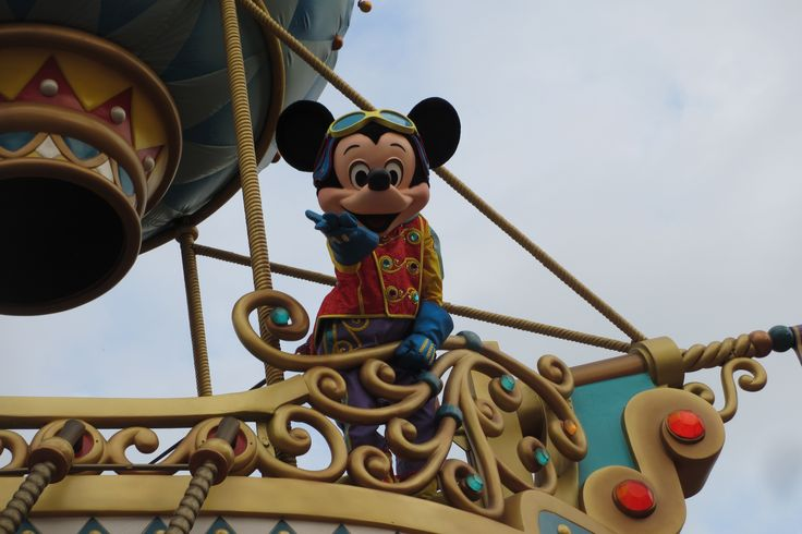 """Mickey spotted me.. """"there you go"""" he said.. I love you Mickey.."""