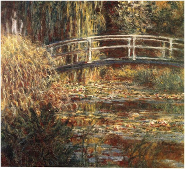 Leer el Arte: Estanque de Nenúfares de Monet