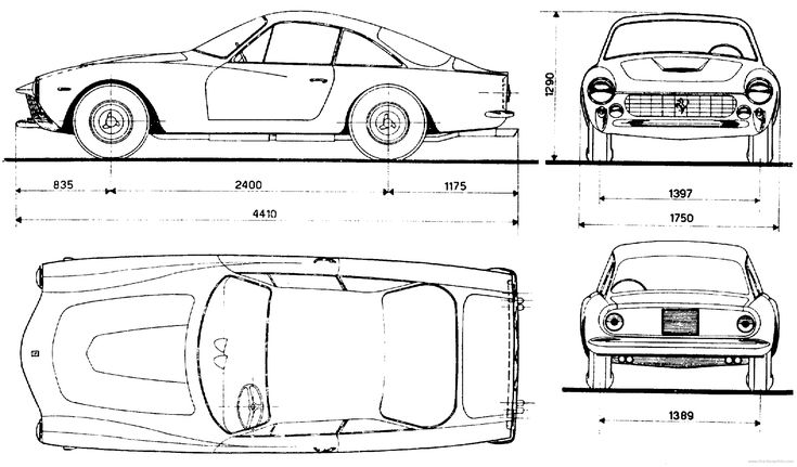 37 best cars blueprints images on pinterest