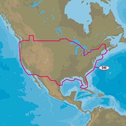 CMAP MAXN NAY US Continental Lakes Lakes And Free Shipping - Us continental map