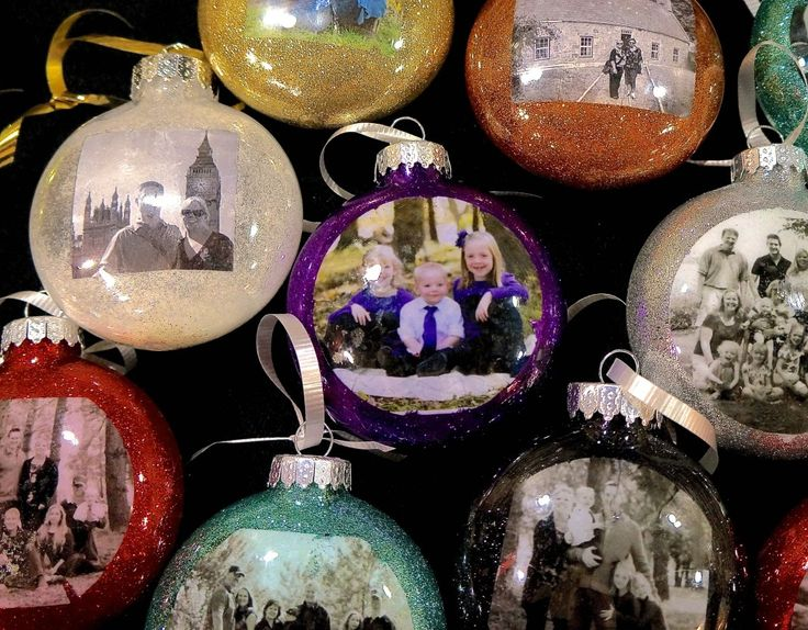 How to makw your own photo ornament