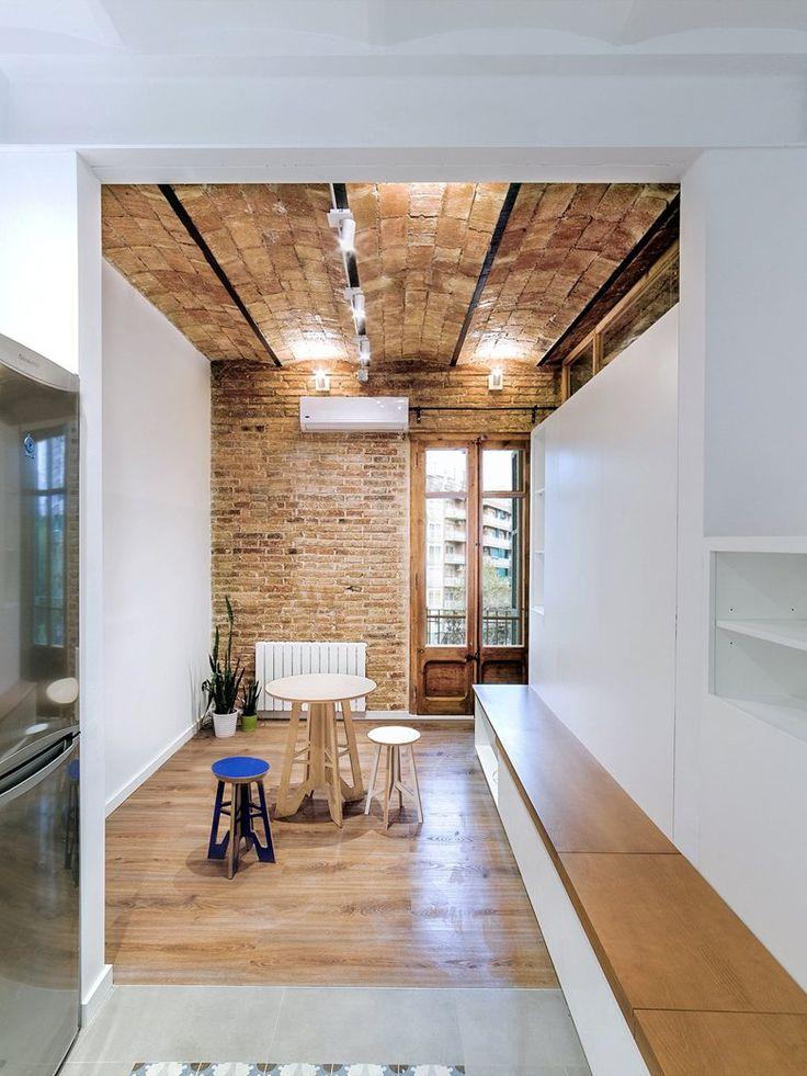Projecte r04 barcelona laboqueria bricks · murs de briquesmaisons