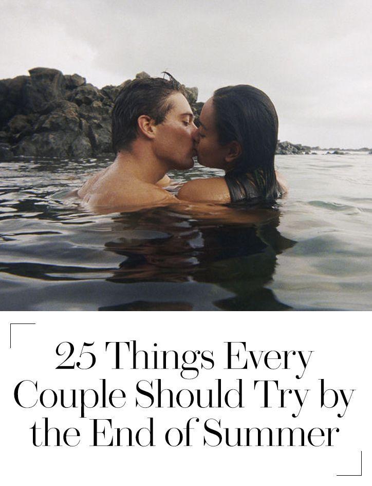 Summer love bucket list: 25 things every couple should do this season #bucketlist #kisses4us