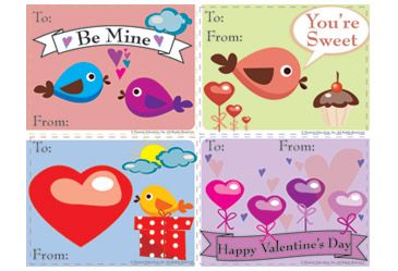 PRINTABLE VALENTINE'S DAY CARDS -- Print, cut, color, and seal with a kiss. These fun Valentine's Day cards are perfect for kids to give to someone special this Valentine's Day.