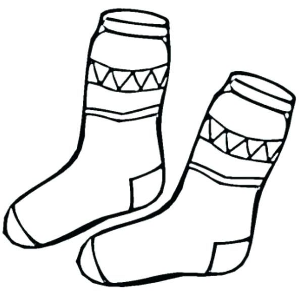 Socks Coloring Page Xflt Fox In Socks Coloring Page Sock Coloring