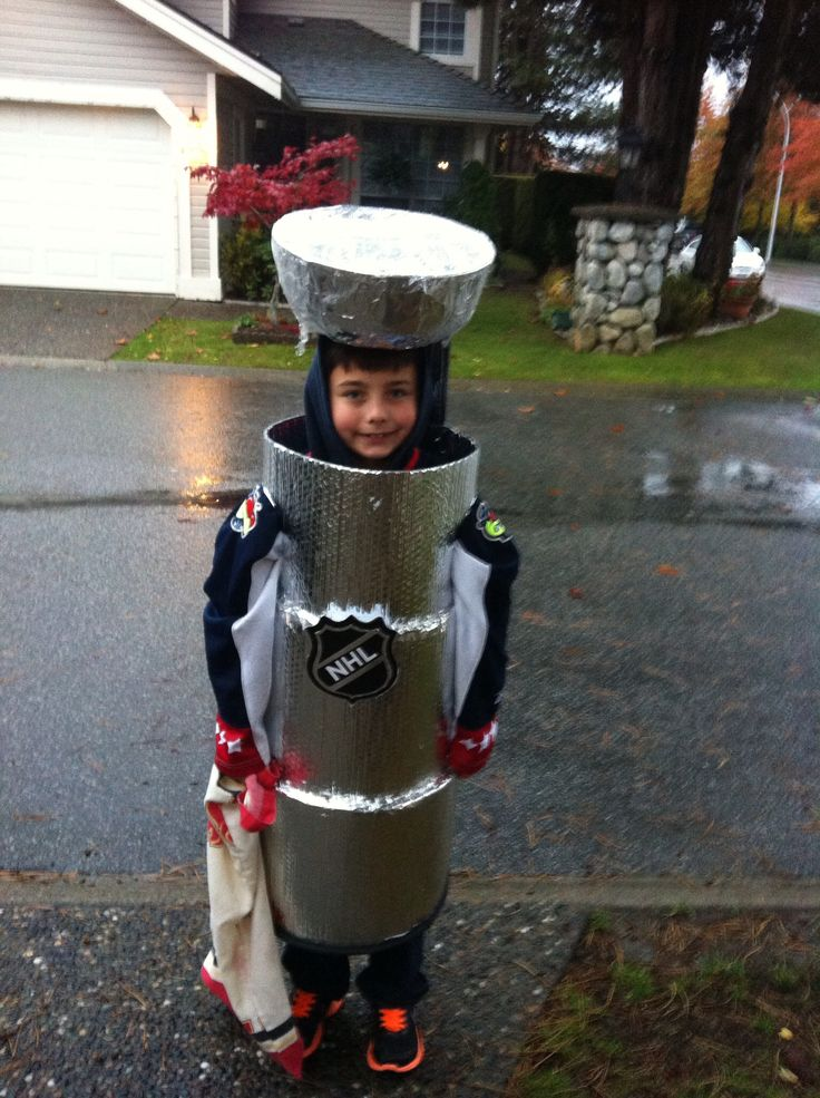 homemade stanley cup boys costume halloween pinterest homemade boy costumes and boys. Black Bedroom Furniture Sets. Home Design Ideas