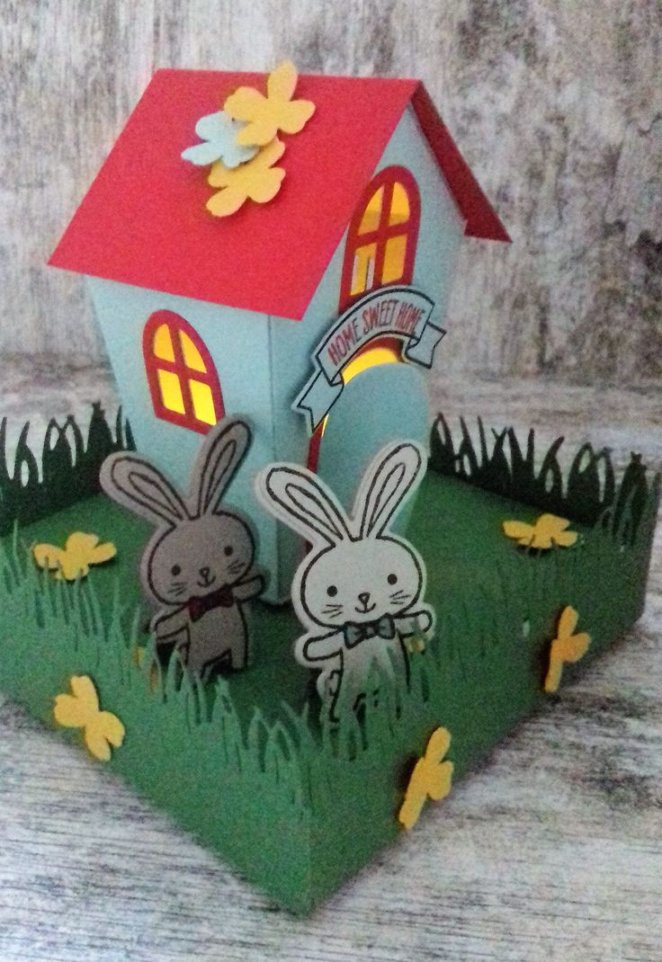 Ouder/kind workshop , 'Home Sweet Home Thinlits Dies', Basket Bunch' Stampin'Up! www.stamp-ing.blogspot.nl