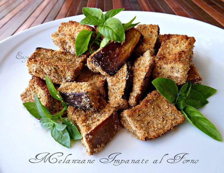 Melanzane impanate al forno ricetta facile e veloce