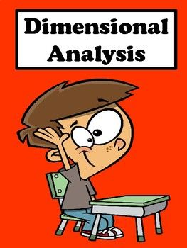Dimensional Analysis: This packet contains worksheets on dimensional analysis. These worksheets are great for differentiation and remediation. This packet includes: Graphic Organizer Error Analysis Error Analysis Answer Key Unit of Measurement Chart Dimensional Analysis Examples Dimensional Analysis Examples Answer