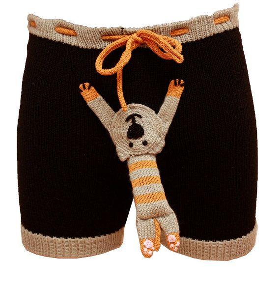 Sexy men Shorts Handmade Men Present Gift by warmpresents on Etsy, $55.00  hahahaha!!
