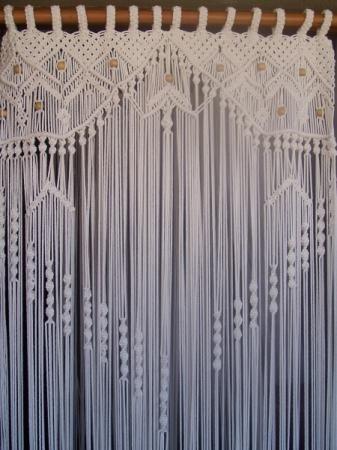 cortina de macramé - Google Search