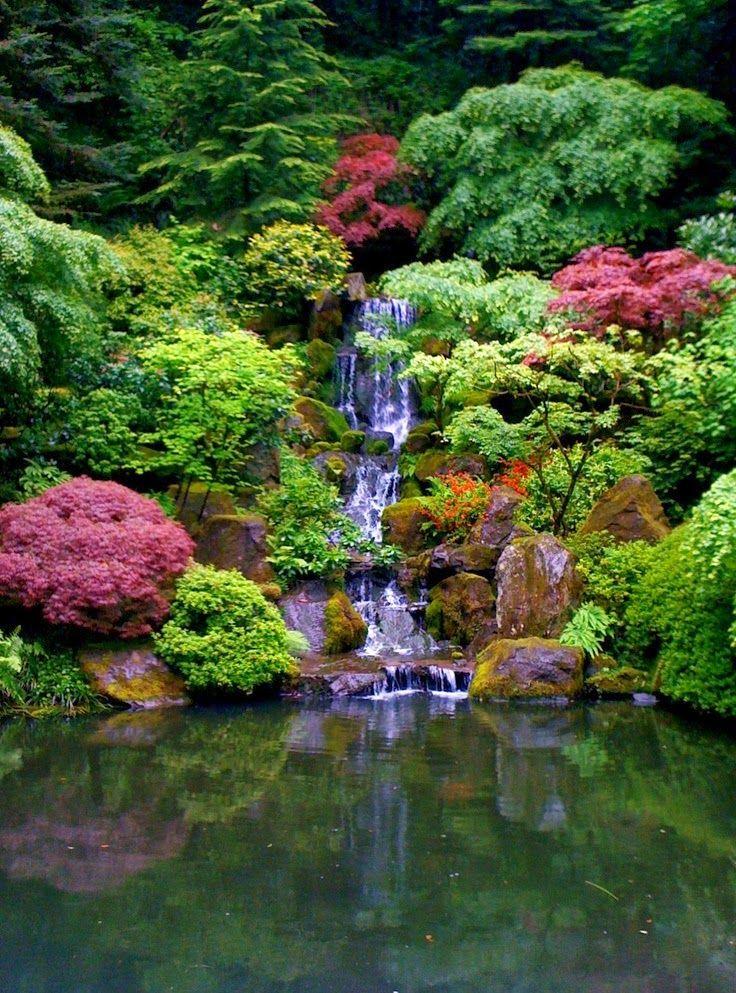 107 Best Beautiful Japanese Gardens Images On Pinterest