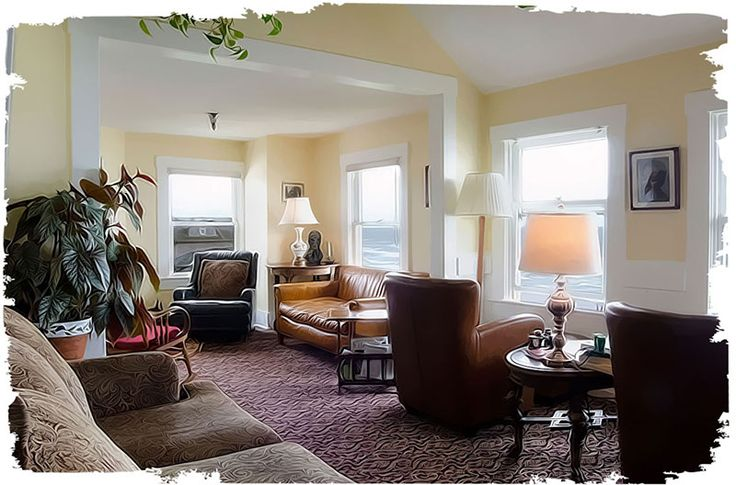 Sylvia Beach Hotel Tolkien Room