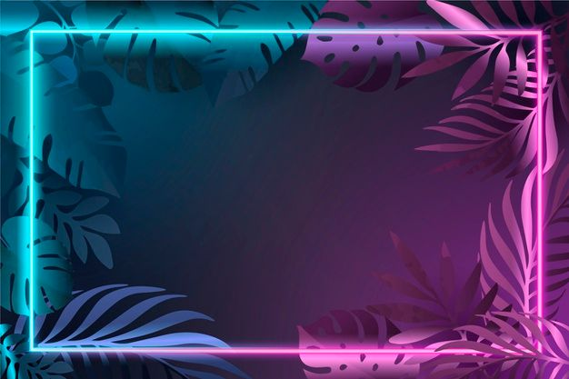 Use them in commercial designs under lifetime,. Download Gradient Leaves With Neon Frame for free in 2020