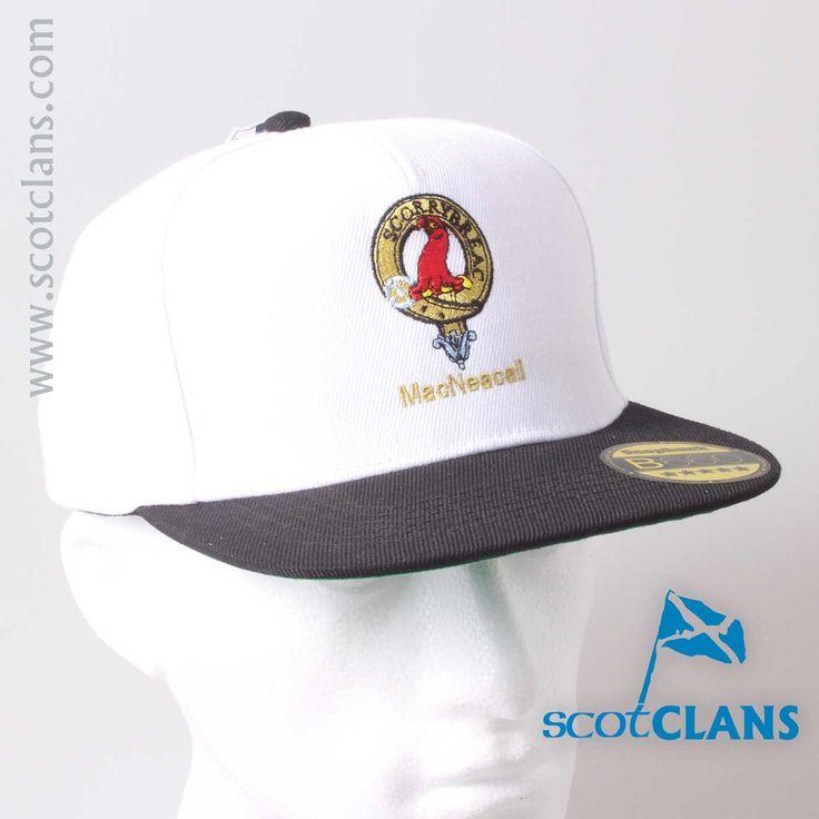 MacNeacail Clan Crest Baseball Cap