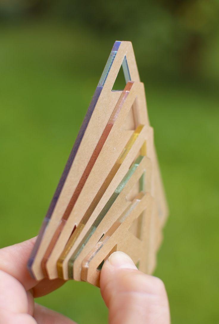 Plantillas triángulos equiláteros para patchwork