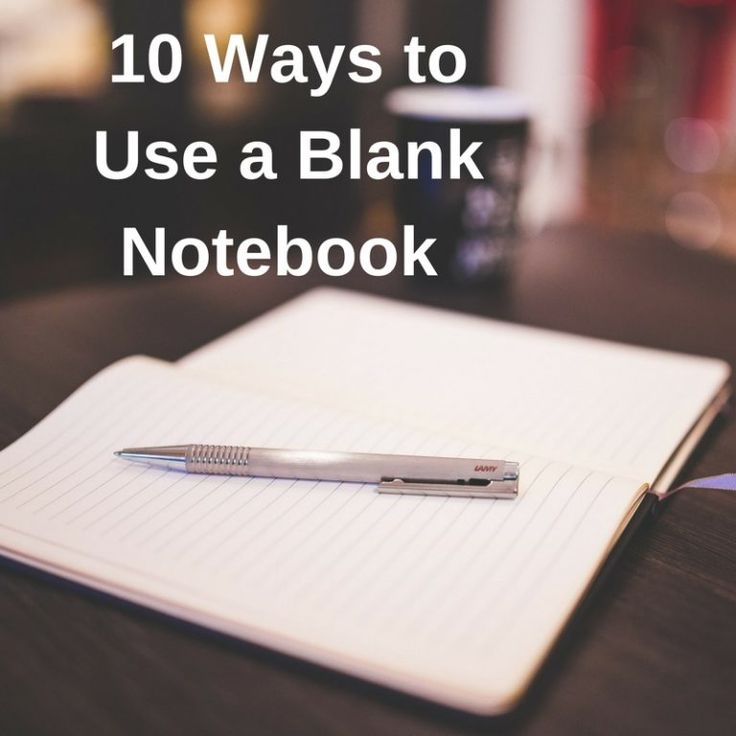 '10 Ways to Use a Blank Notebook...!' (via Cloth Paper Scissors)
