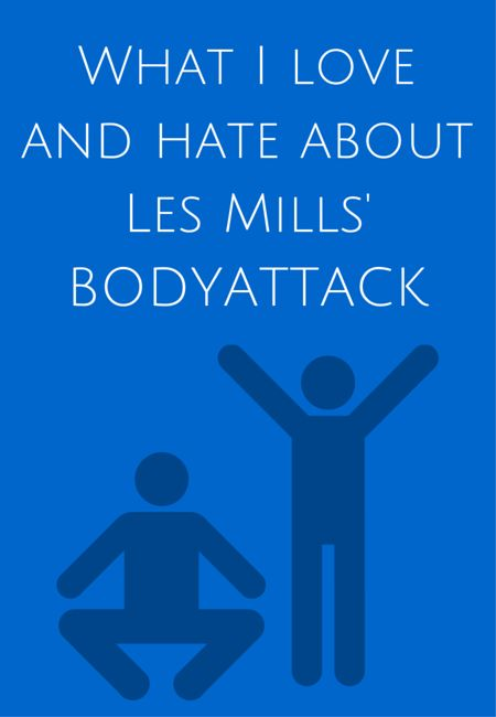 What I love and hate about Les Mills' BODYATTACK
