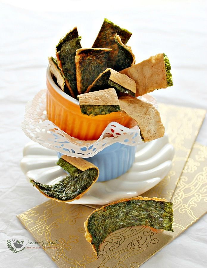 Super easy to make highly addictive Crispy Baked Cod Fish with Nori Seaweed as a snack and only need three main ingredients.