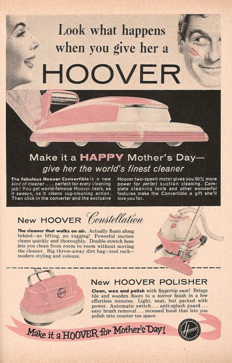 Yeah. Go ahead and try it. And then see what happens when you give your mom or wife a vacuum cleaner for Mother's Day!
