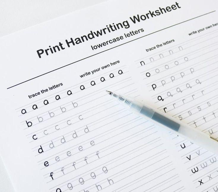Neat Handwriting Practice Handwriting Worksheets, Printable Handwriting  Worksheets, Print Handwriting