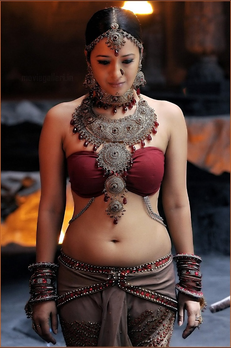 Beautiful Indian inspired bellydancesque costume, lovely red and earth tones and jewelry symmetry