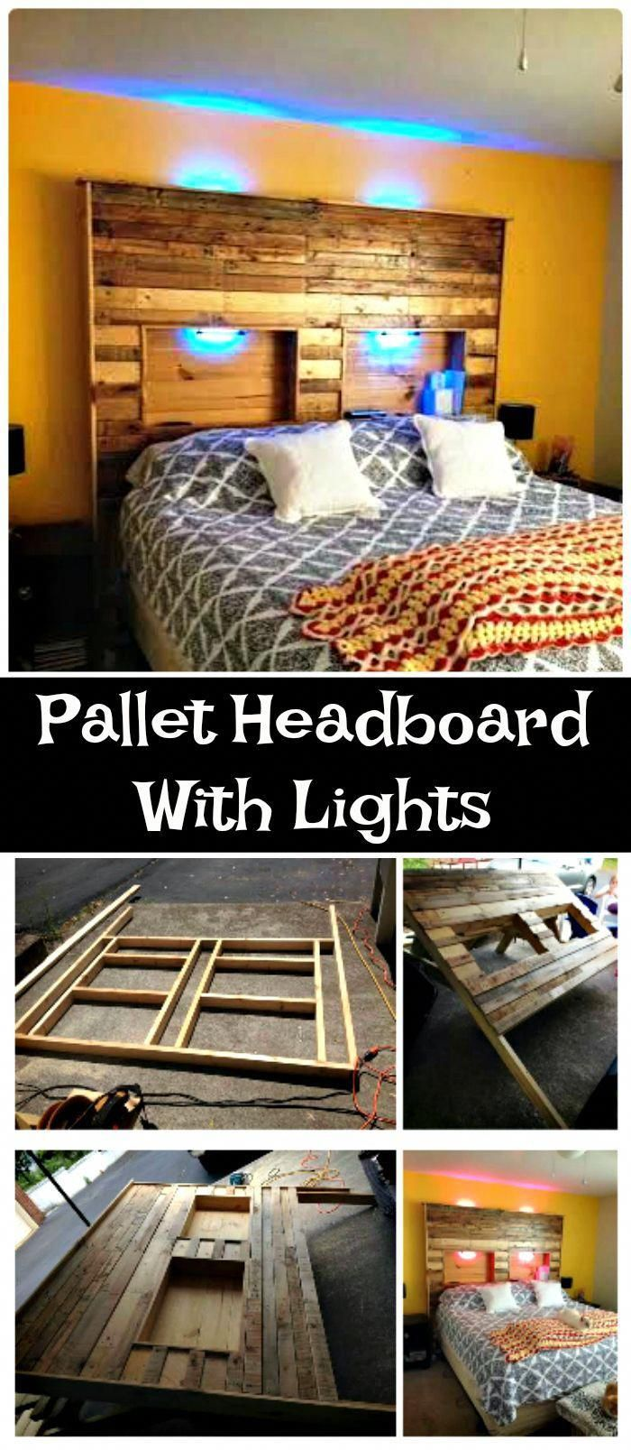 11 Pallet Bed Ideas Step By Step Pallet Bed Frame Tutorials Page