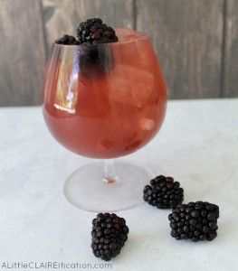 Skinny Vodka Bramble Cocktail Recipe   Post Vacation Blues - A Little Claireification