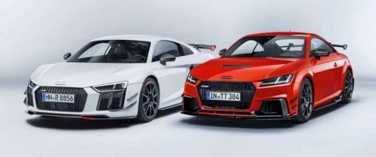 Not along the tuner: Performance Parts Audi TT and R8