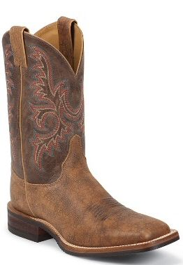 Mens Cowboy Boots Bent Rail By Justin Boots Old Map Cow Mens Cowboy Boot