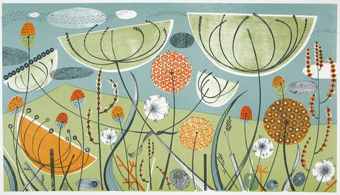 Angie Lewin alliums and fennel