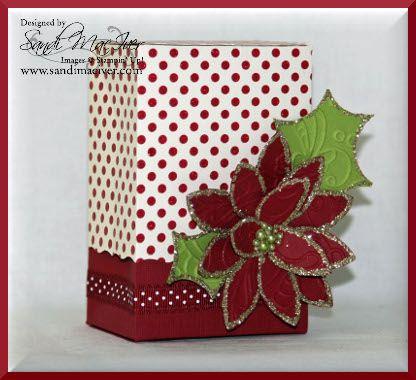 Countdown to Christmas Project #6 | Stamping With Sandi - Sandi MacIver, Stampin' Up! Demonstrator