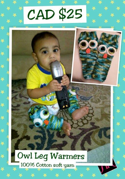 Owl Leg Warmers