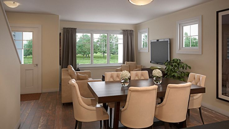 Spacious living areas and bright open floor plans