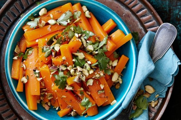 Create an amazing side dish with this sweet and zesty carrot salad.