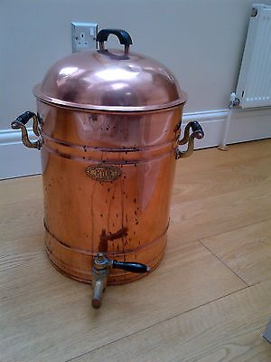 ANTIQUE COPPER TEA URN BY RYCROFT & COMPANY OF BRADFORD | eBay