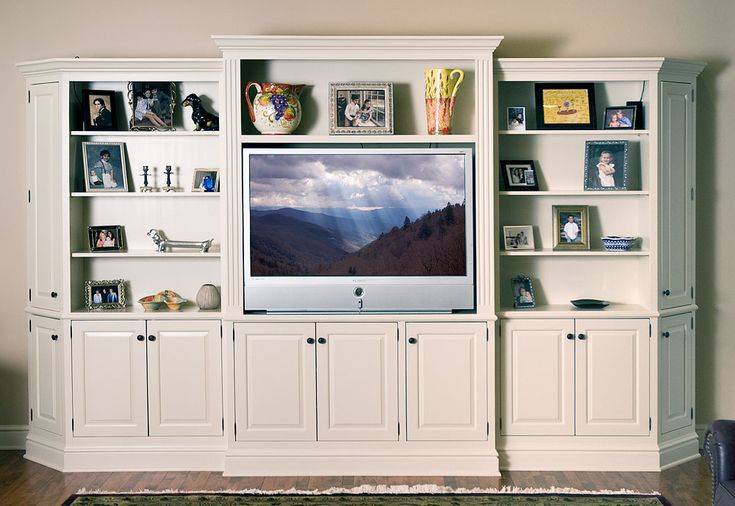 17 Best Ideas About White Entertainment Centers On