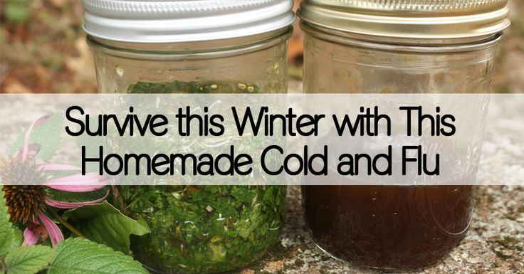 Looking for a natural alternative for cold and flu medicine? With this homemade cold and flu tincture you'll be able to treat your symptoms naturally.