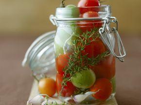 Eingelegte Tomaten - smarter - Zeit: 20 Min.   eatsmarter.de
