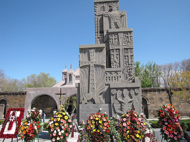 Monument of Armenian Genocide in Echmiadzin,Armenia