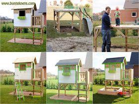 Klettergerüst Kinderzimmer Selber Bauen : Best kinder ideas baumhäuser baumhaus bauen und