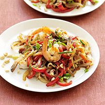 Weight Watchers: Thai Shrimp and Vegetable Stir-Fry