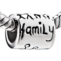 Fashion Happy Family 925 Sterling Silver Style Pandora Bead