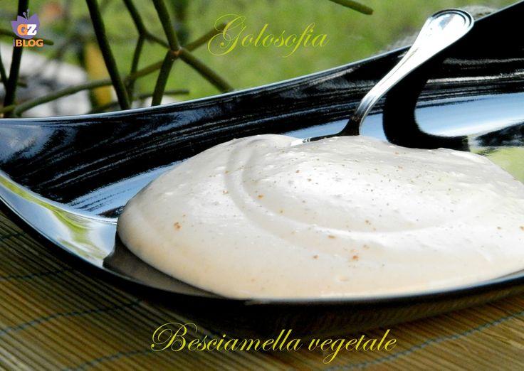 Besciamella vegetale-ricetta base-golosofia